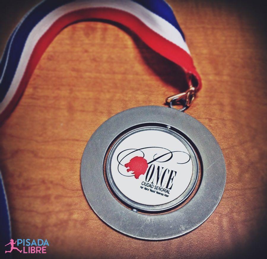 Mi medalla del Maratón de La Guadalupe 2015