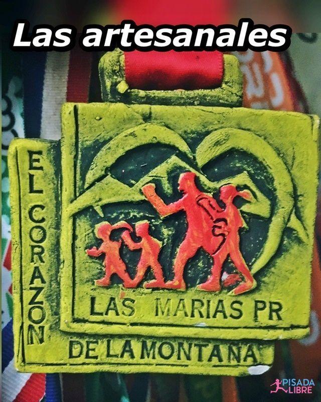 Medalla artesanal del pueblo Las Marías