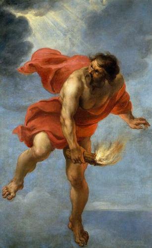 el mito de prometeo resumen