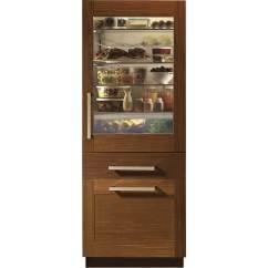 Where To Buy Used Kitchen Cabinets Vinyl Backsplash Monogram - 14.3 Cu. Ft. Bottom-freezer Built-in ...