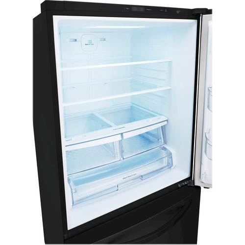 Lg Freezer Black Bottom Refrigerator