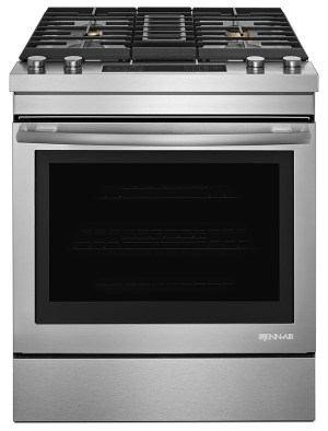 JennAir  64 Cu Ft SelfCleaning SlideIn Dual Fuel Convection Range  Stainless steel at