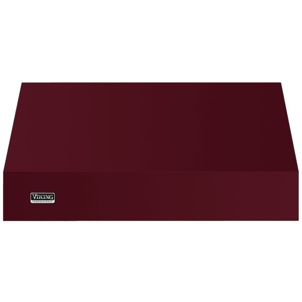 "Viking - Professional 5 Series 48"" Range Hood Burgundy"