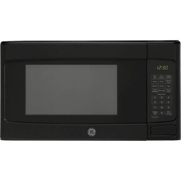Ge - 1.1 Cu. Ft. Microwave Black Pacific