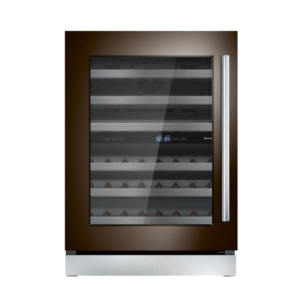 Thermador - 41-bottle Built-in Dual Zone Wine Cooler