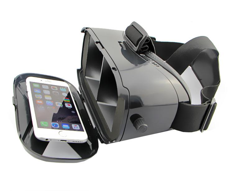 NTO  VR Lentes de Realidad Virtual hasta 6  Negro
