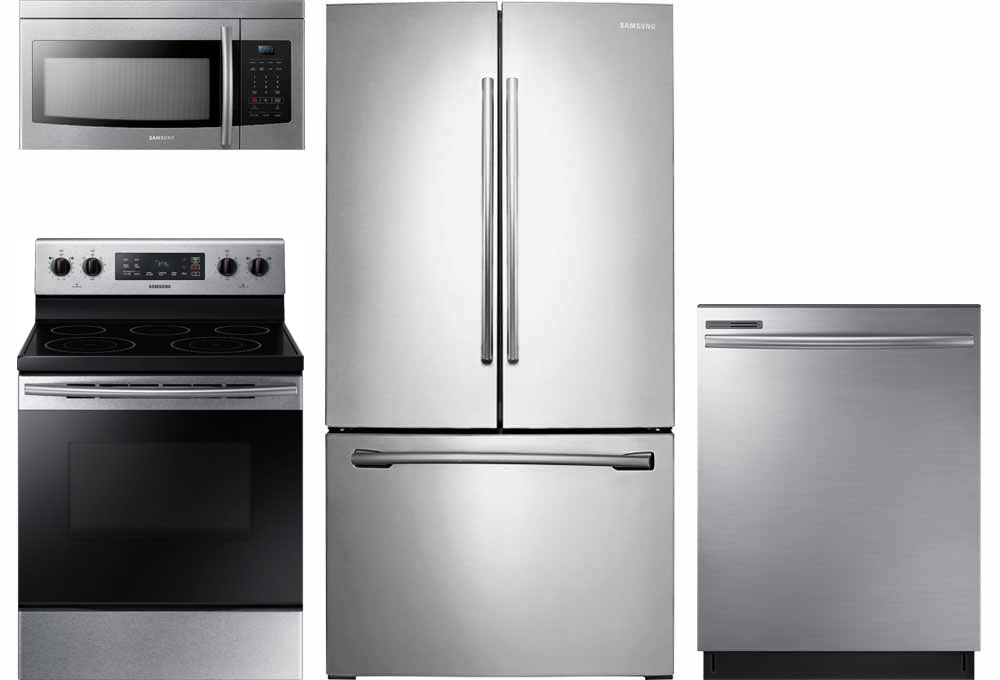 kitchen suite deals best floors for kitchens appliance packages at buy sleek stainless appliances a budget