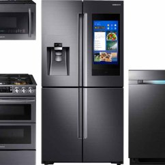 Kitchen Suite Deals Cabinet Veneer Appliance Packages At Best Buy Premium Technology Fingerprint Resistant