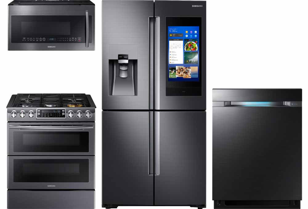 lowes kitchen appliances small sinks appliance packages at best buy premium technology fingerprint resistant