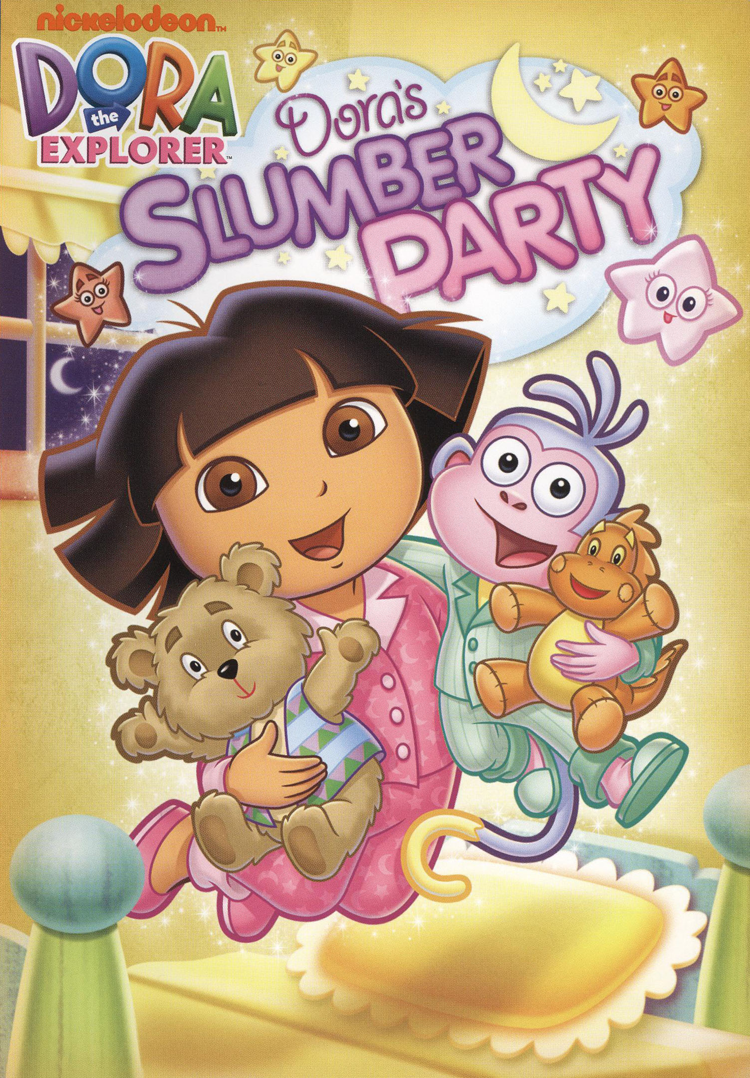 Dora The Explorer Dora S Slumber Party Dvd