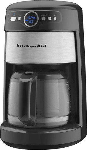 Kitchenaid 14cup Glass Carafe Coffeemaker Kcm222ob  Best Buy
