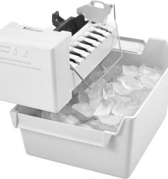 whirlpool icemaker kit for most whirlpool amana and jenn air side by side refrigerators white eckmfez2 best buy [ 3278 x 3149 Pixel ]