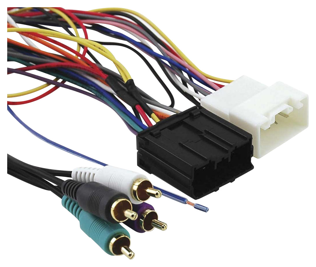 2002 saturn sl2 radio wiring diagram hyundai santa fe parts car deck harnesses audio stereo cd player harness best buy metra installation kit for select mitsubishi eclipse and endeavor vehicles multicolor front standard