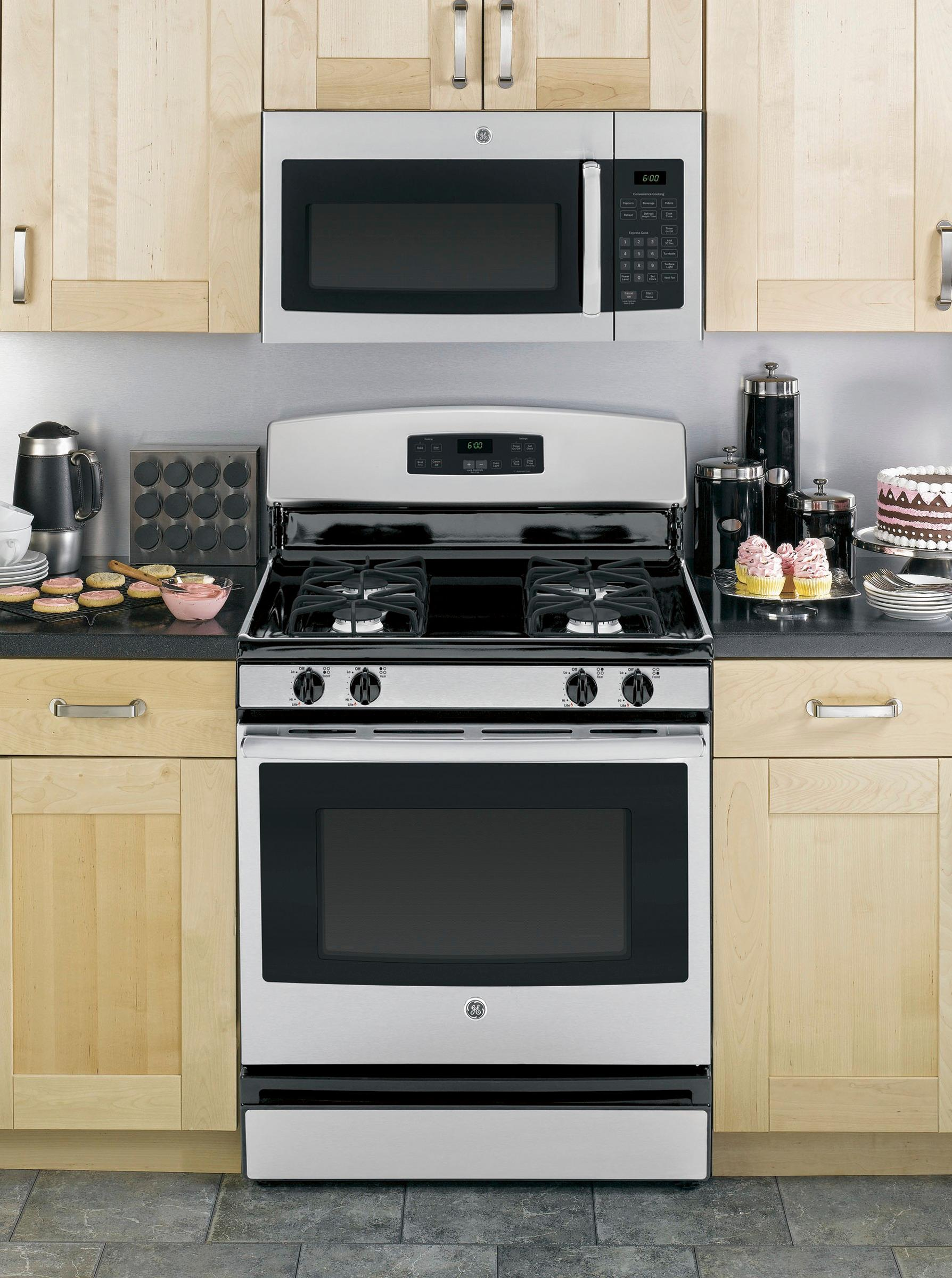 ge 1 6 cu ft over the range microwave stainless steel