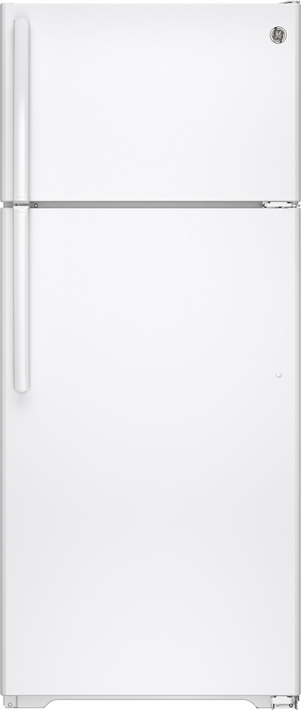 GE 17.5 Cu. Ft. Frost-Free Top-Freezer Refrigerator White