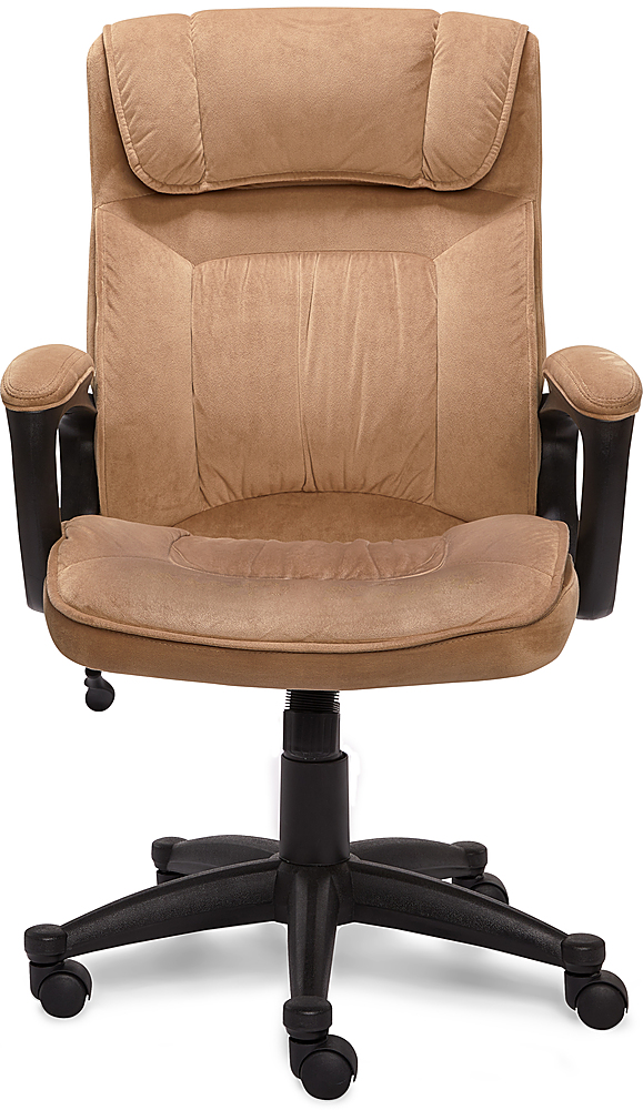 simple desk chair tempurpedic tp8000 office chairs best buy serta executive beige
