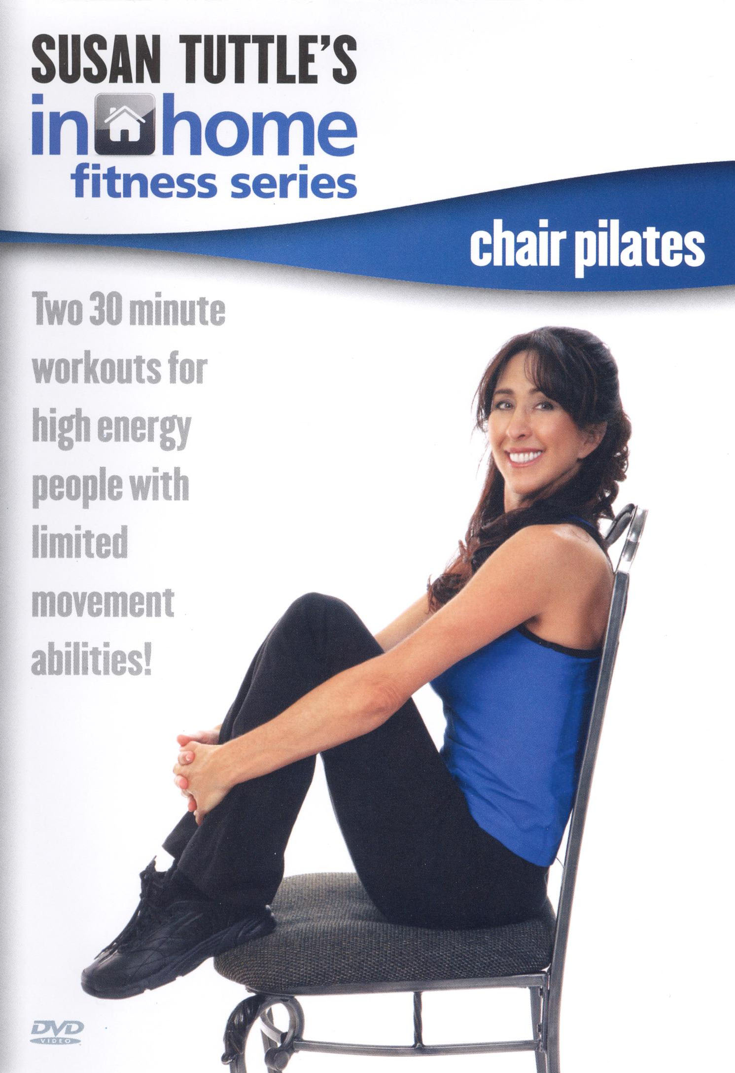 chair gym dvd set swing warehouse best buy susan tuttle 39s in home fitness pilates