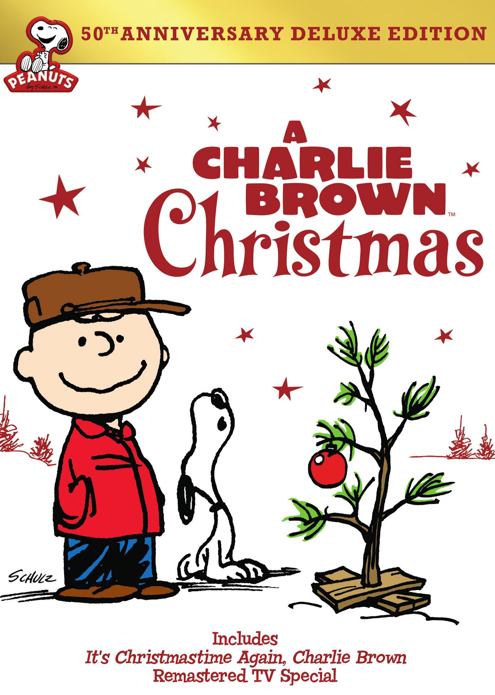 A Charlie Brown Christmas 50th Annivesary 2 Discs Dvd