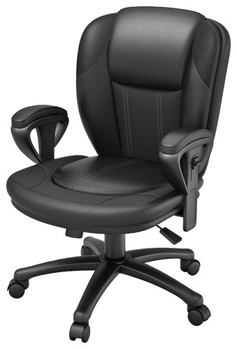 chairs for office mid century modern accent z line designs leather chair black zl3006 01mcu best buy