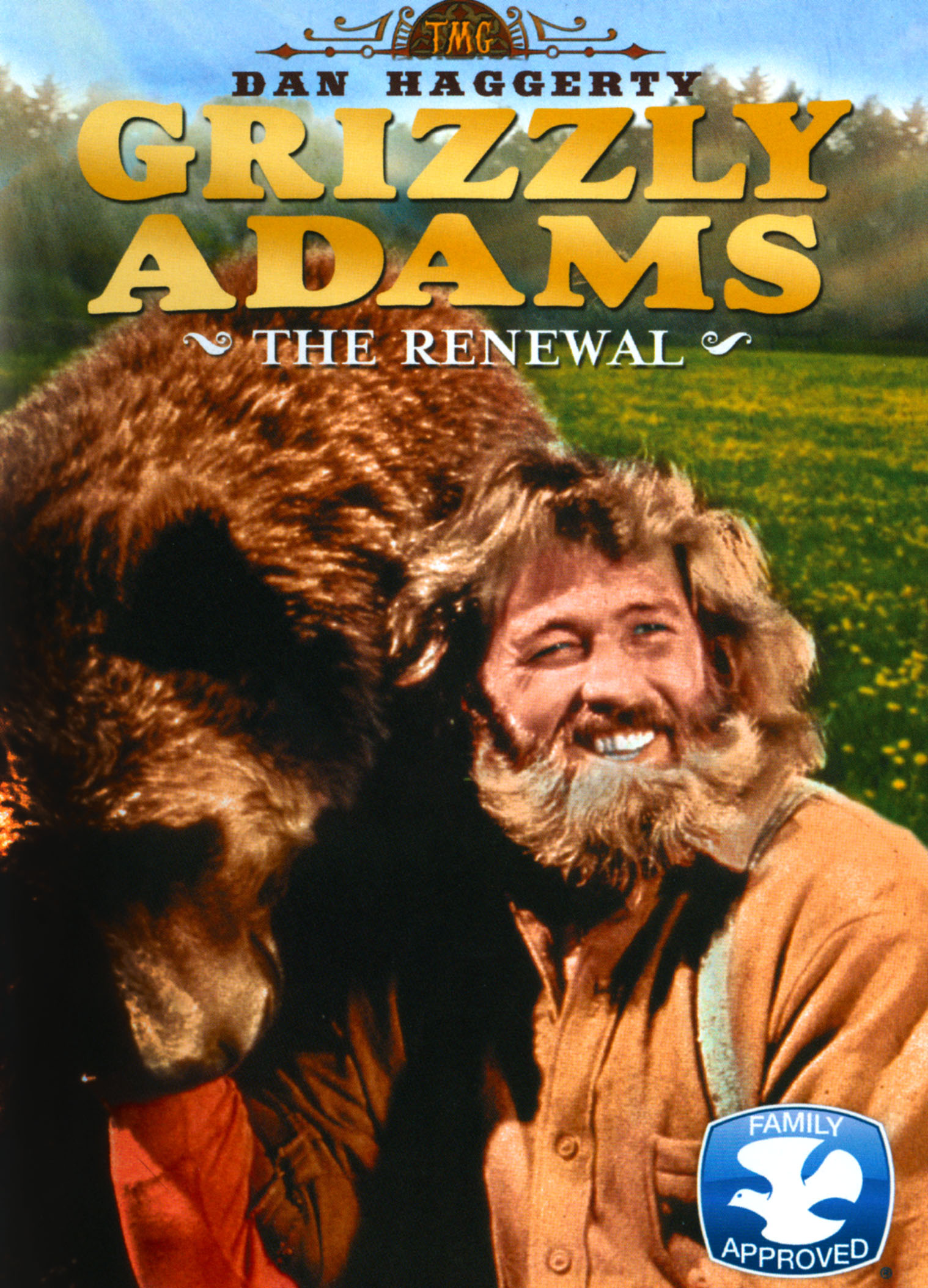 Grizzly Adams Did Have A Beard : grizzly, adams, beard, Grizzly, Adams:, Renewal, [DVD]