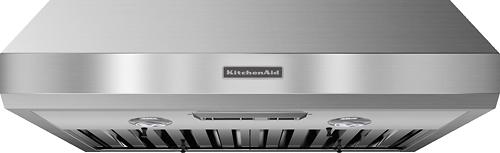 kitchenaid 30 externally vented range hood stainless steel