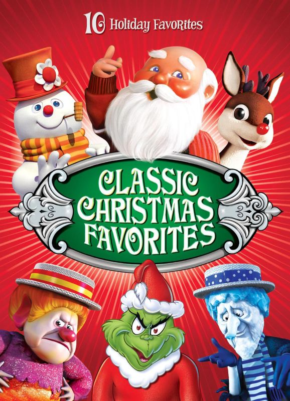 Classic Christmas Favorites 4 Discs DVD English