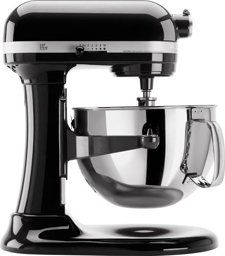 kitchen aid pro 600 used cabinets craigslist kitchenaid kp26m1xob professional series stand mixer black front standard
