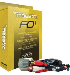 maestro installation harness for select 2006 and later ford lincoln mazda and mercury [ 1152 x 1158 Pixel ]