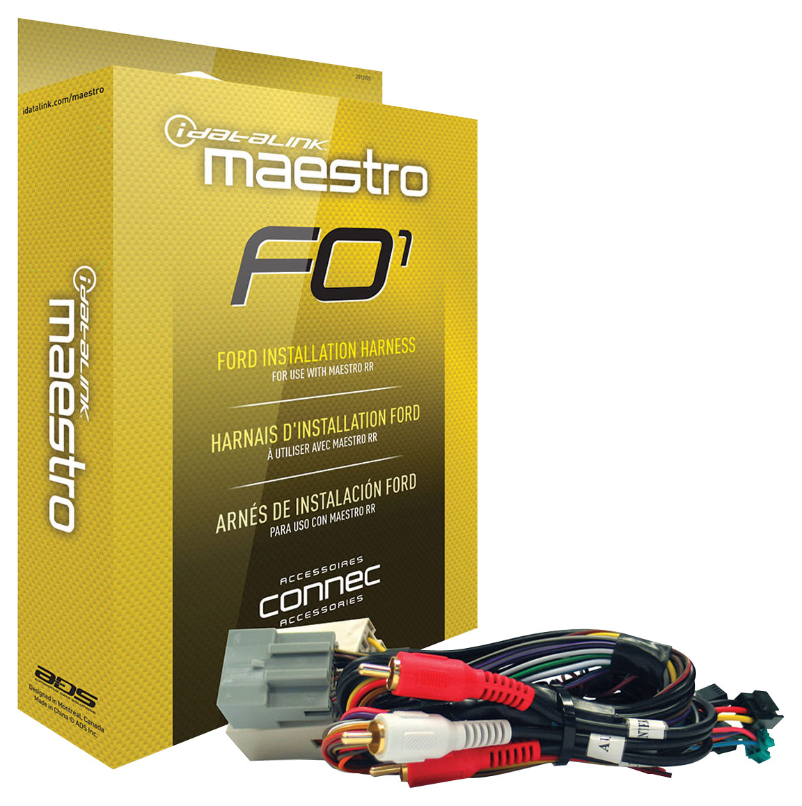 hight resolution of maestro installation harness for select 2006 and later ford lincoln mazda and mercury