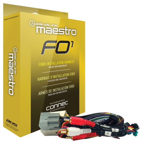 small resolution of maestro installation harness for select 2006 and later ford lincoln mazda and mercury
