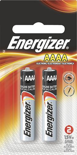 Energizer AAAA Batteries 2Pack E96BP2  Best Buy