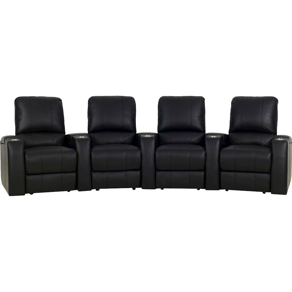 theater chairs best buy spandex chair covers vancouver octane seating magnolia curved 4 seat power recline home black