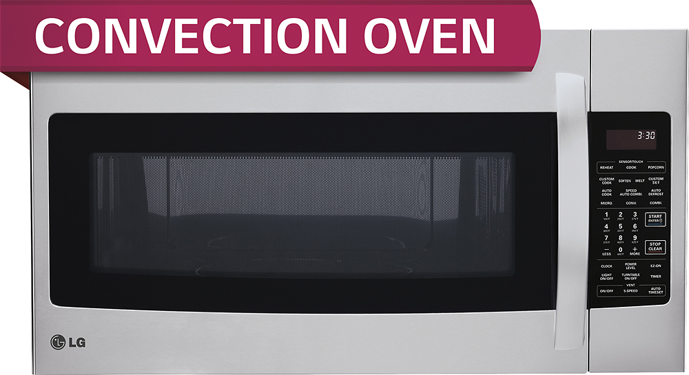 lg 1 7 cu ft over the range convection microwave stainless steel