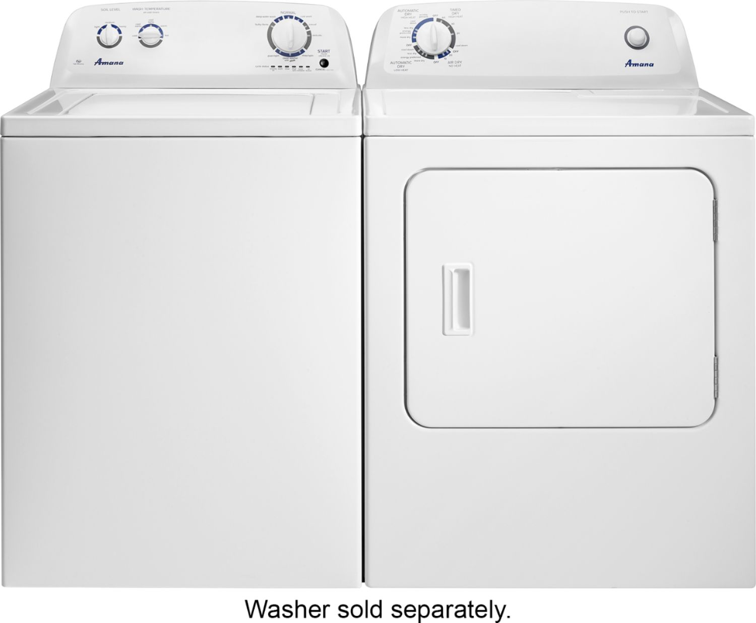 hight resolution of amana electric dryer