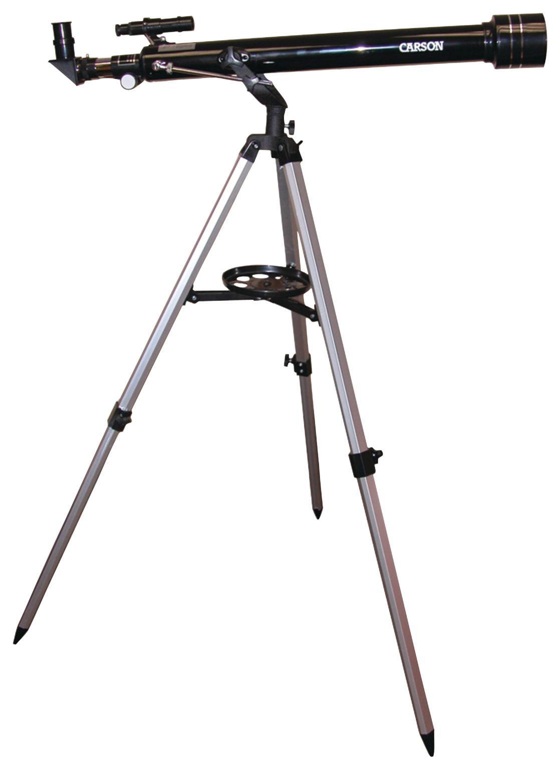 Carson Skyseeker 60mm Refractor Telescope Black JC-1000
