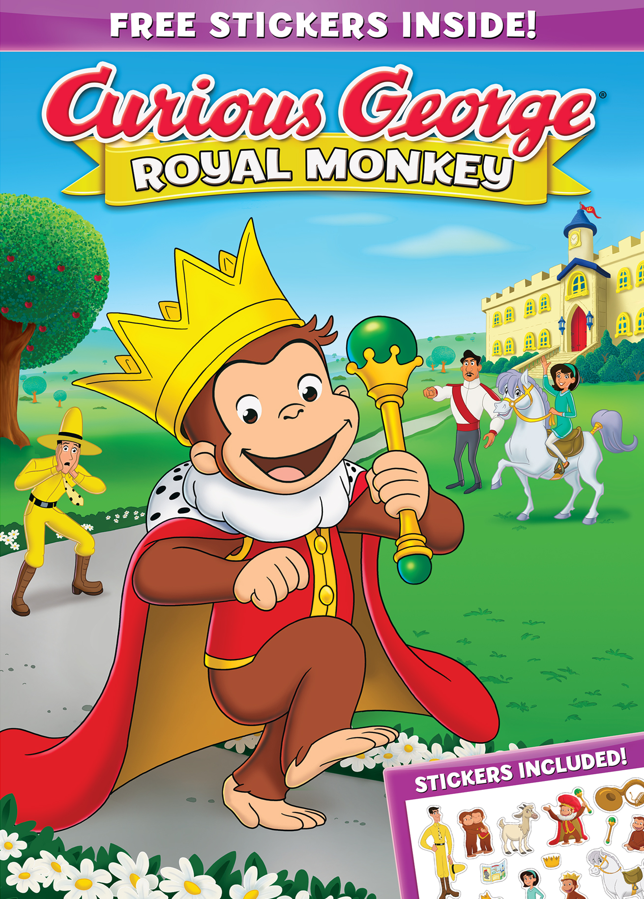 Curious George A Royal Monkey Dvd