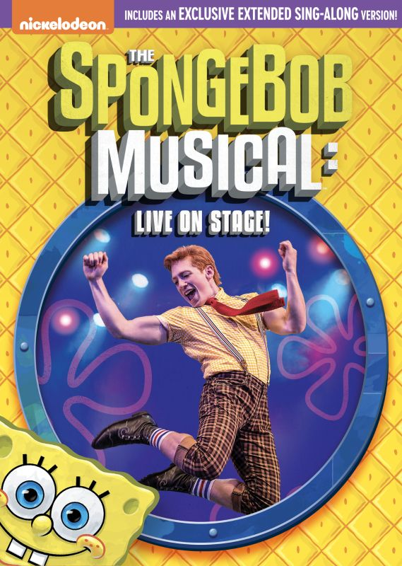 Spongebob Musical Nickelodeon Date : spongebob, musical, nickelodeon, SpongeBob, SquarePants:, Musical:, Stage!, [DVD], [2019]