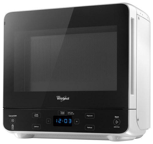 whirlpool 0 5 cu ft compact microwave white