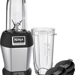 Ninja Kitchen Com Roller Island Pro Table Top Blender 900 W Multi Bl456 Best Buy Black Front Standard