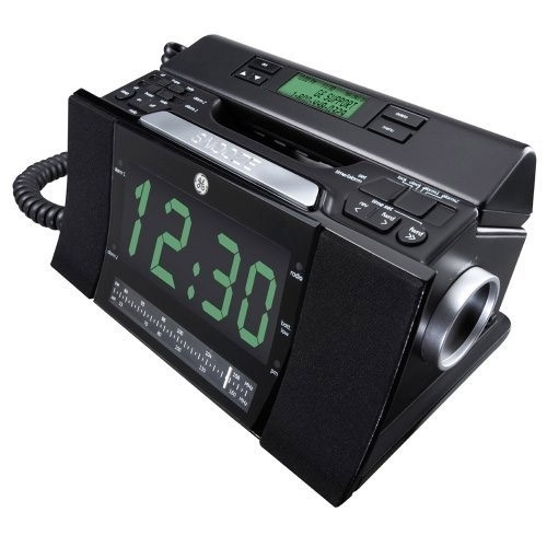 Bedroom Phone Alarm Clock Radio