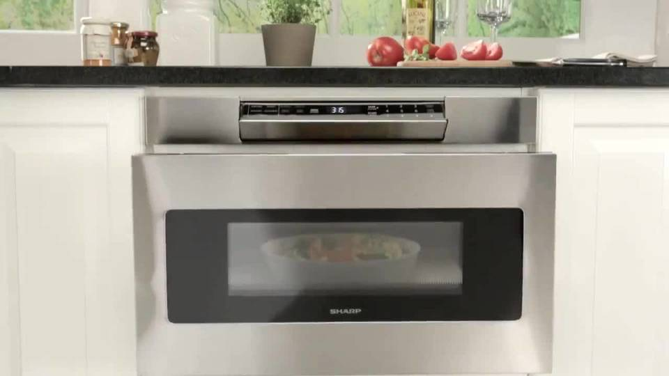 microwave drawer stainless steel