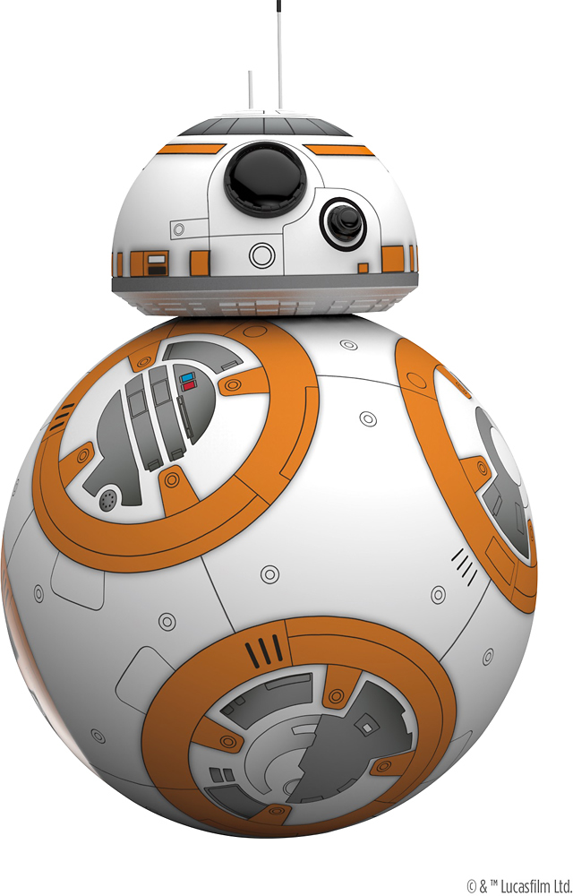Robot Star Wars Bb8 : robot, BB-8™, App-Enabled, Droid™, Sphero, White, R001USA