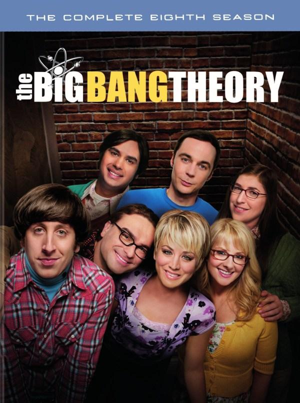 Big Bang Theory Complete Eighth Season Dvd