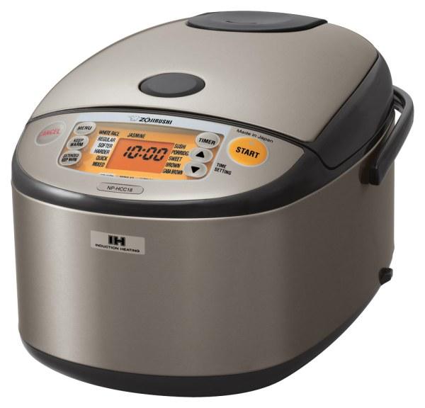 Zojirushi 10-cup Rice Cooker Gray Np-hcc18xh