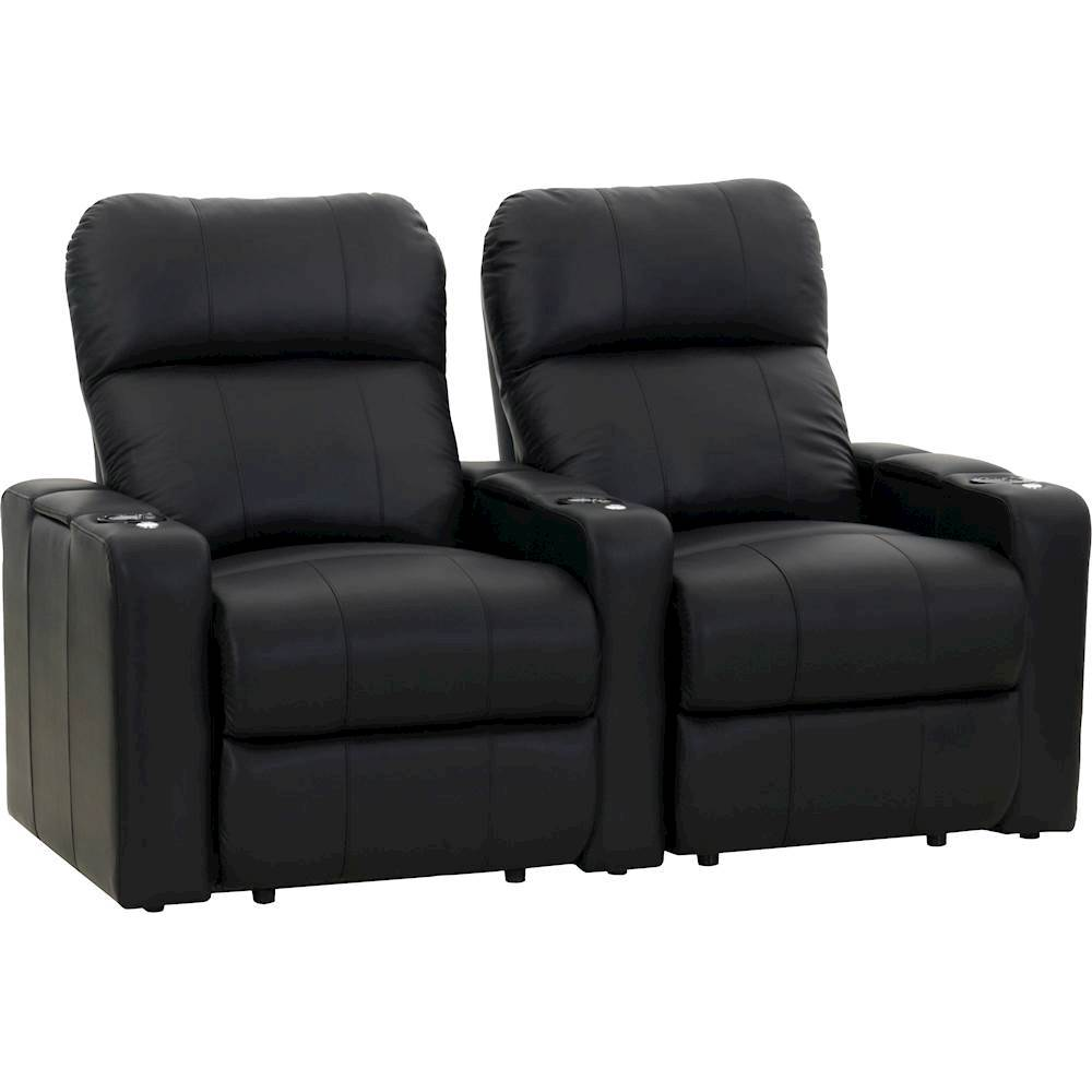 theater chairs best buy vintage womb chair for sale octane seating turbo xl700 straight 2 seat power recline home black