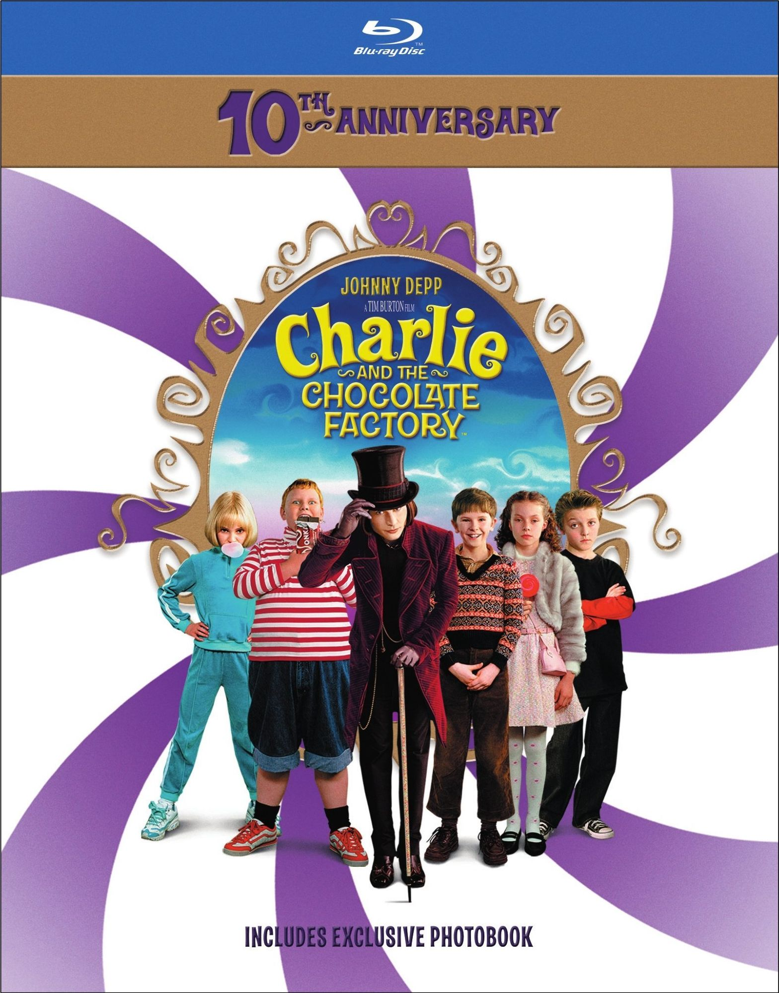 Charlie And The Chocolate Factory 10th Anniversary Blu