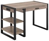 Best Buy: Walker Edison Industrial Tech Computer Desk Gray ...