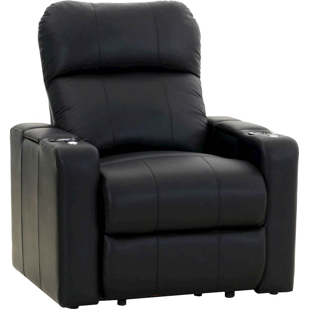 theater chairs with cup holders king hickory chair and a half octane seating turbo xl700 straight manual recline home black front zoom
