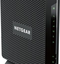 netgear nighthawk dual band ac1900 router with 24 x 8 docsis 3 0 cable modem black c7000 100nas best buy [ 777 x 1400 Pixel ]