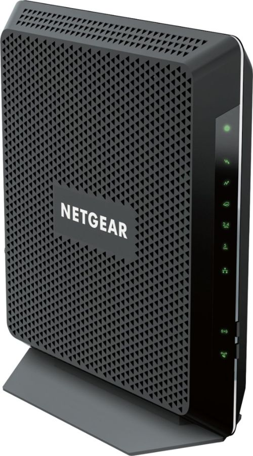 small resolution of netgear nighthawk dual band ac1900 router with 24 x 8 docsis 3 0 cable modem black c7000 100nas best buy